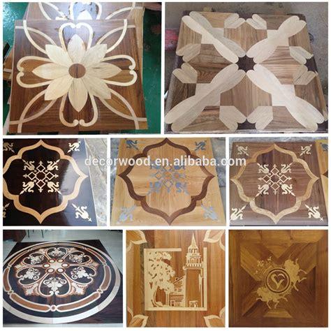 Engineered Wood Walnut/oak Veneer Art Pattern Parquet
