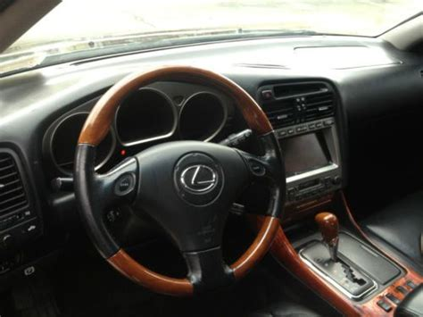 how does cars work 2003 lexus is interior lighting sell used a used 2003 lexus gs300 with black leather interior gps chrome wheels low miles in