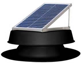 solar powered attic fan vent by natural light 24 watt vents up to 2000 sq ft ebay