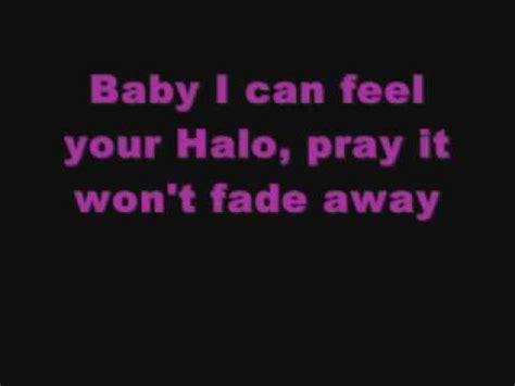 halo lyrics beyonce halo lyrics youtube