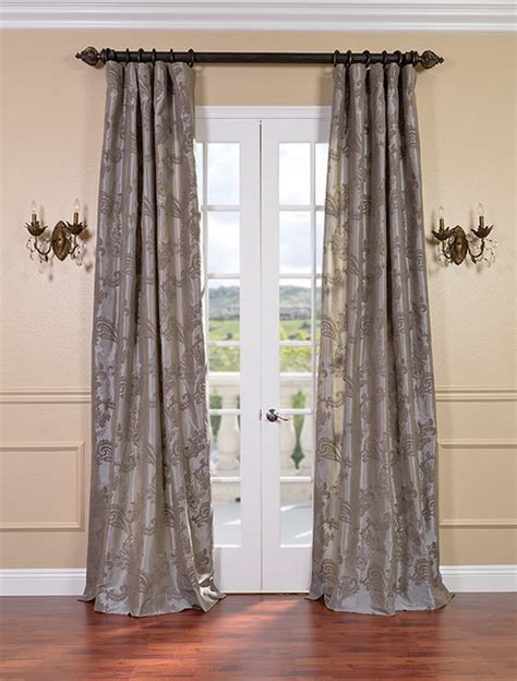 taupe silk curtains mom would this be to much taupe pretty though huh
