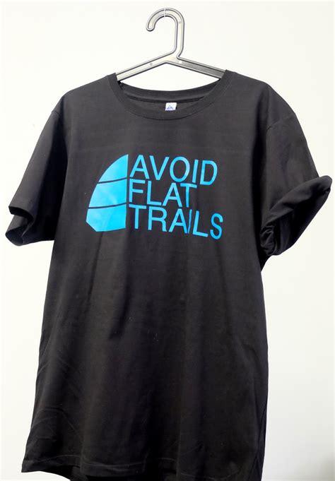 Tshirt Avoid t shirt quot avoid flat trails quot herren trail magazine