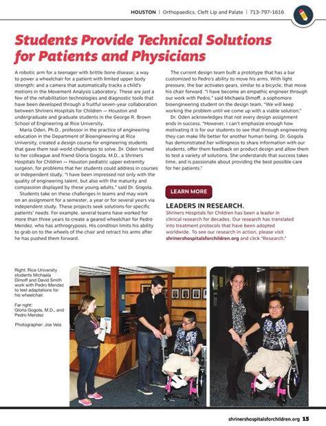 Oshman Engineering Design Kitchen by Oedk Rice University Team Project Involving Wheelchair