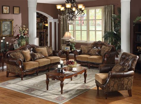 Formal Living Room Sets by Cherry Wood Living Room Furniture Formal Living Room Set