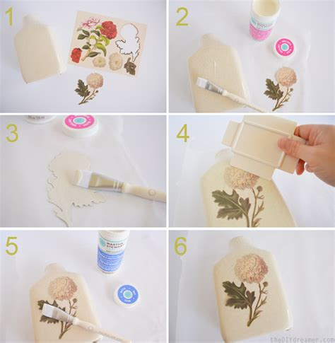 Decoupage Step By Step - diy decoupage vintage vase creating a vintage looking vase
