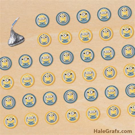 printable stickers for hershey kisses free printable minion hershey s kisses stickers
