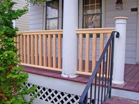 Outdoor Railing Spindles Front Porch Spindles Western Spindle Porch Gallery 3
