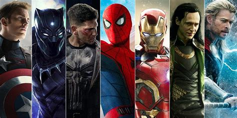 marvel film with all characters list most popular marvel characters their powers