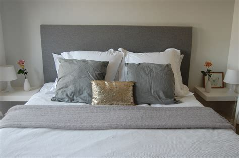 how to make a bed headboard how to make a headboard 171 emily wheeler
