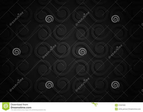 pattern of abstract in thesis black business card with a geometric pattern vector