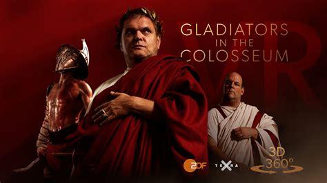 gladiator film zdf cgtalk gladiators in the colosseum 360 3d