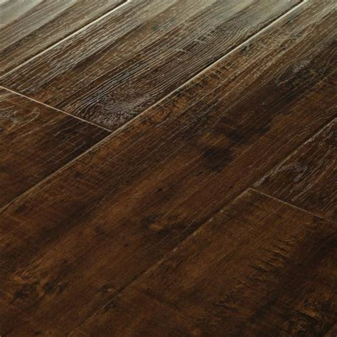 mega clic dark walnut distressed baroque mcb 165 hardwood flooring laminate floors floor