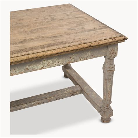 large dining table with bench large andalusia distressed dining table furniture la