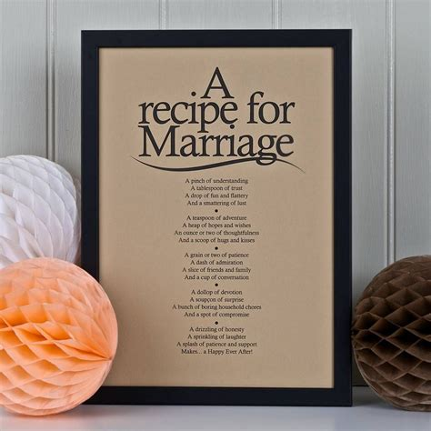 Wedding Advice Poem by Personalised Marriage Print With Marriage Poem Marriage