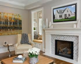 fireplace tile design for the home