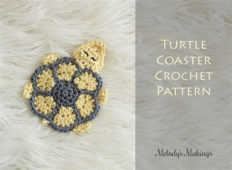 turtle pattern jpg turtle coaster free pattern melody s makings