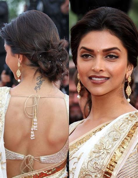 deepika padukone tattoo deepika padukone ideas on back side of the