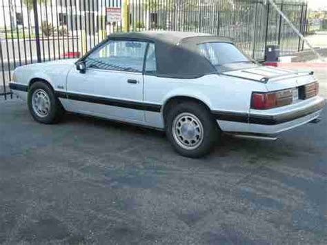 1989 mustang 5 0 parts purchase used 1989 ford mustang lx 5 0 convertible fox