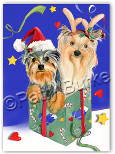 yorkie christmas cards yorkshire terrier christmas cards yorkie christmas cards yorkie cards