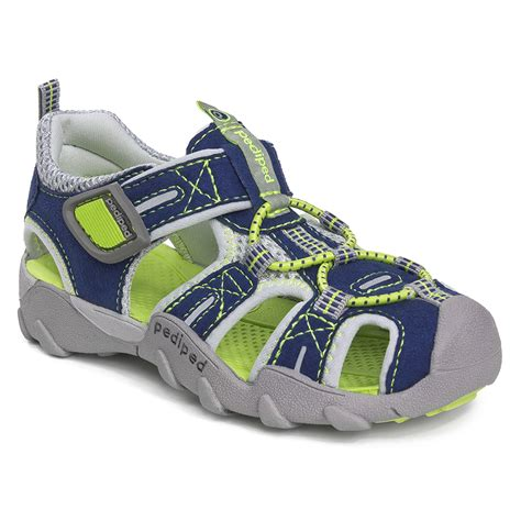 pediped infant shoes flex 174 navy lime pediped footwear comfortable
