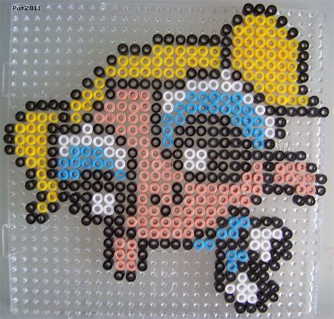 how to melt perler without an iron perles a repasser dessin anime les loisirs de pat