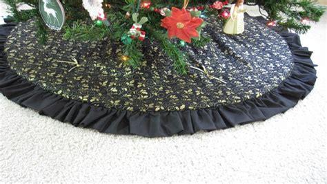 elegant christmas tree skirts black gold quot quot tree skirt http christmastreeskirt org tree skirts