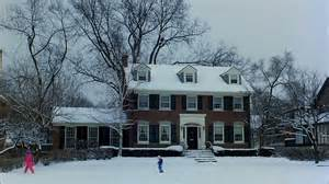 house in the snow planes trains automobiles house in the snow hooked on houses