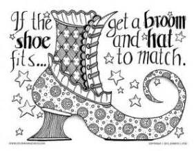 witch feet coloring page 367 best adult colouring shoes feets hands zentangles