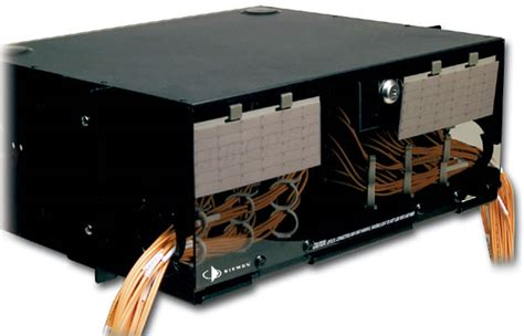 Siemon Rack by Siemon Fiber Optic Lightsystem Connections
