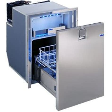 isotherm dr49 inox stainless steel two drawer fridge