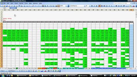 Material Requirment Planning In Excel Avi Youtube Material Requirement Planning Excel Template