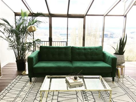 Karlstad 3 Seater Sofa by Velvet Sofa Covers Style Practicality We Don T