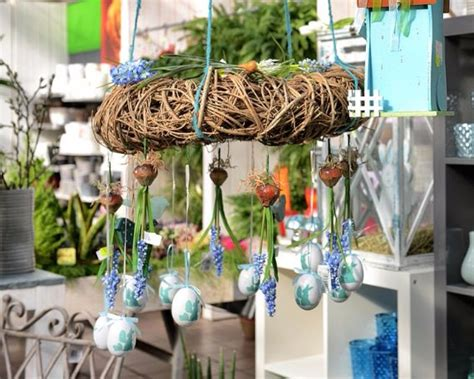 etagere osterdeko creative ideas for easter decoration for a cozy