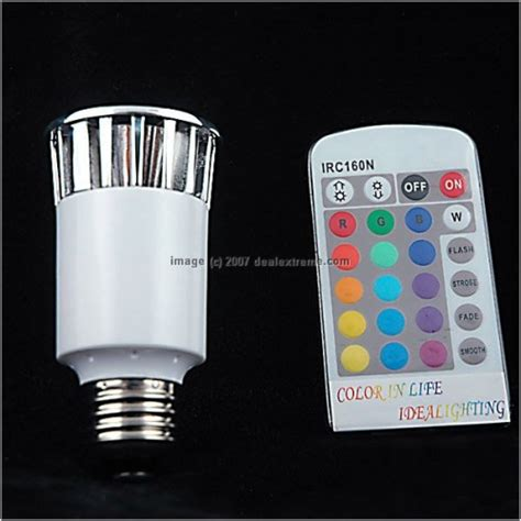 remote lights remote controlled light bulb hacked gadgets diy tech