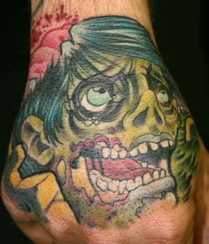 zombie tattoo prices hand tattoos for men for girls for women tumble words