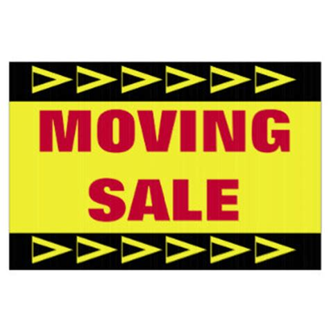 Moving Garage Sale by Moving Sale Gifts On Zazzle