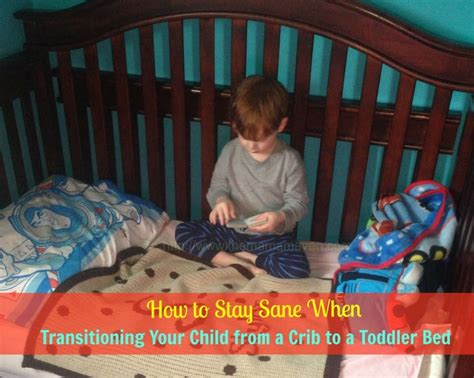 tips for transitioning your child to a toddler bed