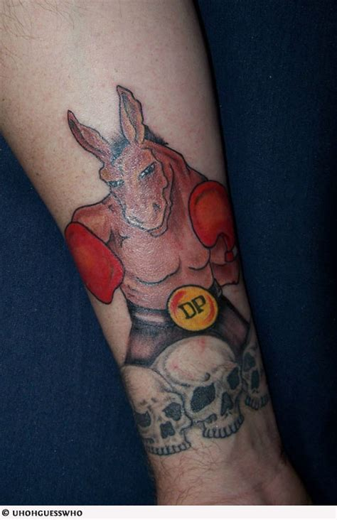 donkey tattoo designs cool tattoos gallery