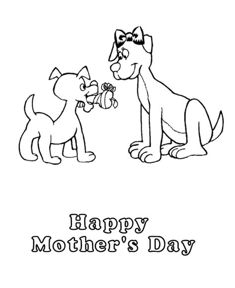 happy mothers day coloring page animals coloring pages quot happy s day quot