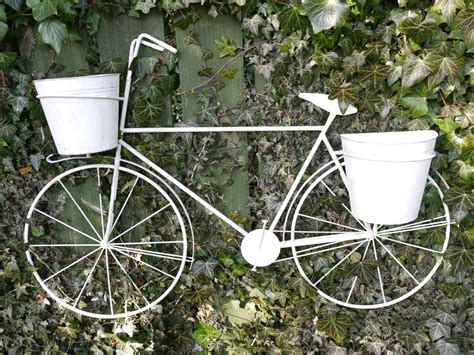 Bicycle Planters by Bike Planter Wall Decoration 2511