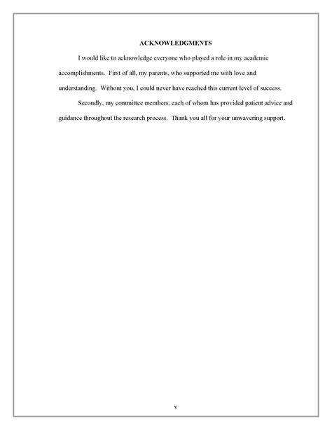 dissertation acknowledgements exles uk acknowledgments thesis and dissertation research