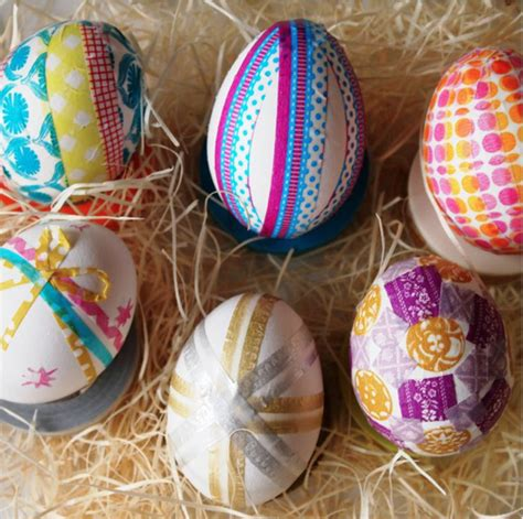 cool easter eggs 10 unique dye free easter egg ideas
