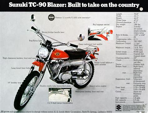Suzuki Tc 90 Suzuki Tc90 Brochure Scans