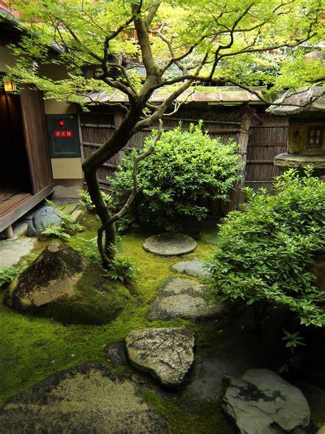 Japanese Garden In Sumiya Shimabara Kyoto Japan 2014