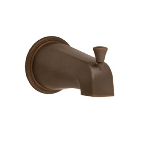 bronze bathtub american standard portsmouth slip on diverter tub spout in