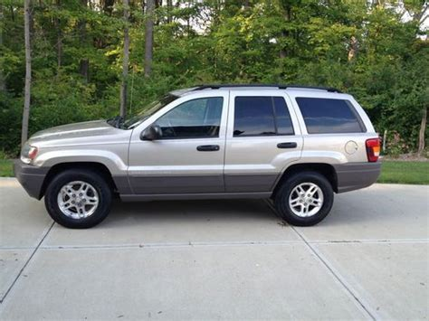 find used 2004 jeep grand laredo sport utility 4