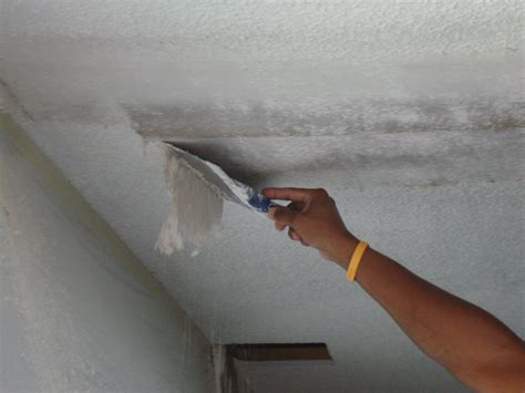 how to remove acoustic ceiling popcorn ceiling removal sppokane acoustic ceiling