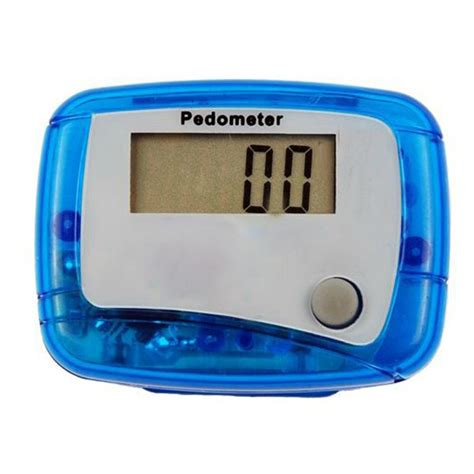 Pedometer Sport Running Digital Step Counter lcd digital pedometer with clip walking distance counter alex nld
