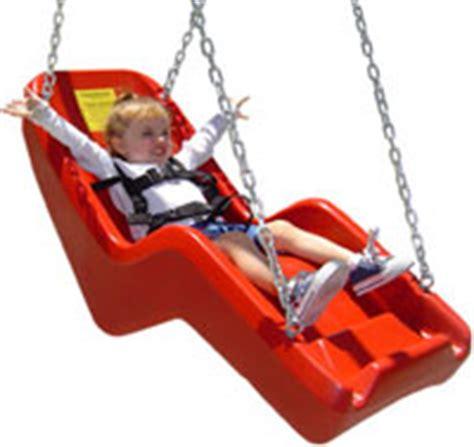 jenn swing jenn swing adaptive swings for handicapped accessible play
