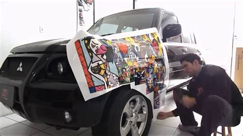 Car Interior Smoke Bomb by Romero Britto Em Sticker Bombs Hmd Car